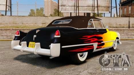 Cadillac Series 62 convertible 1949 [EPM] v2 para GTA 4 traseira esquerda vista
