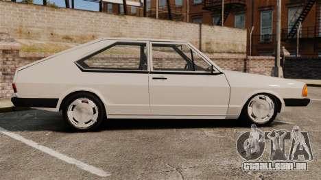 Volkswagen Passat TS 1981 para GTA 4 esquerda vista