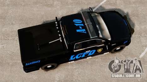 Ford F-150 v3.3 LCPD Auxiliary [ELS & EPM] v1 para GTA 4 vista direita