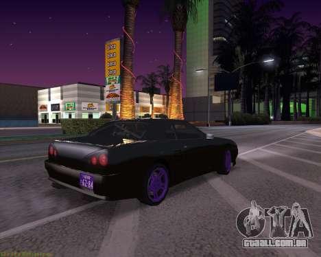 Elegy by Xtr.dor v2 para GTA San Andreas esquerda vista