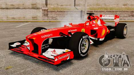Ferrari F138 2013 v4 para GTA 4