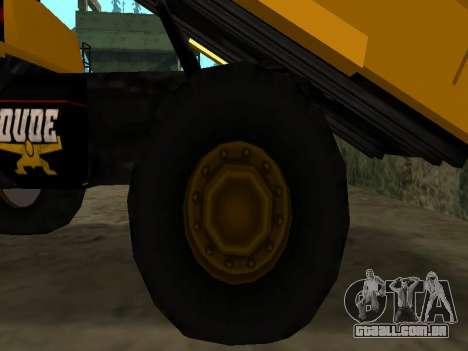 Novo descarregador para GTA San Andreas vista inferior