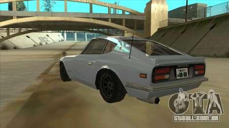 Nissan Fairlady S30Z para GTA San Andreas