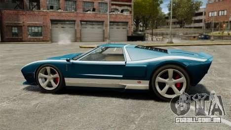 Nova bala GT para GTA 4 esquerda vista