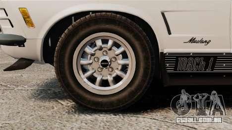 Ford Mustang Mach 1 Twister Special para GTA 4 vista de volta
