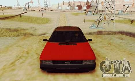 Fiat Duna para GTA San Andreas vista traseira