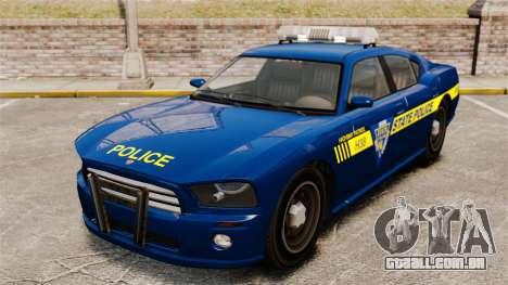 NLSP Buffalo para GTA 4 vista de volta