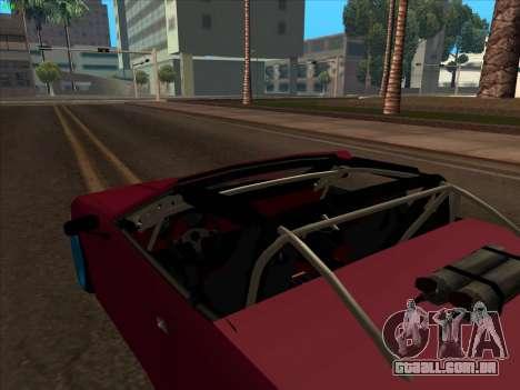 Elegy pickup by KaMuKaD3e para vista lateral GTA San Andreas
