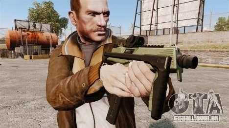 MP9 metralhadora tático v2 para GTA 4 terceira tela