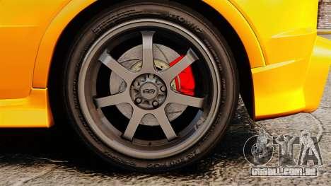 Honda Civic Type-R (FN2) para GTA 4 vista de volta