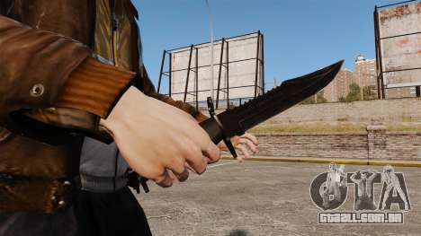 A faca de Alabama Slammer preto para GTA 4 segundo screenshot