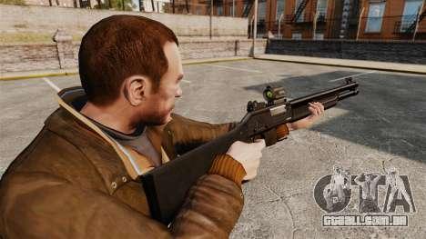 Tática espingarda Fabarm SDASS forças Pro v2 para GTA 4 segundo screenshot
