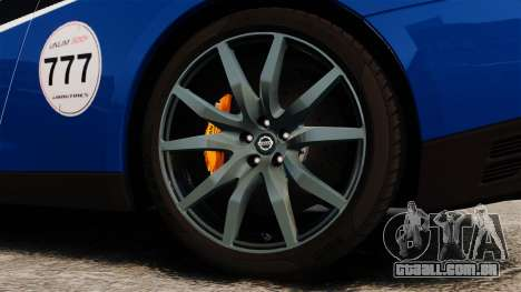 Nissan GT-R 2012 Black Edition AMS Alpha 12 para GTA 4 vista interior
