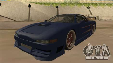 Infernus 2013 para GTA San Andreas