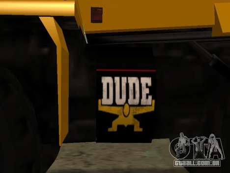 Novo descarregador para GTA San Andreas vista interior