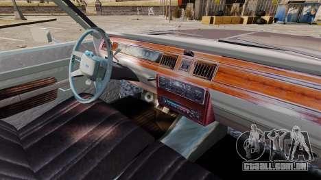 Ford LTD Crown Victoria para GTA 4 vista de volta