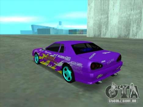 Drift elegy by KaMuKaD3e para o motor de GTA San Andreas