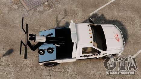 Ford F-550 Towtruck Rapid Towing [ELS] para GTA 4 vista direita