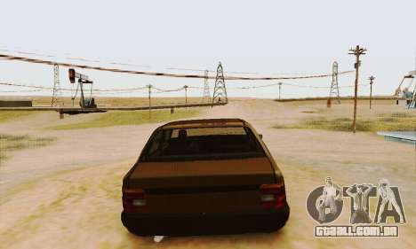 Fiat Duna para GTA San Andreas vista direita