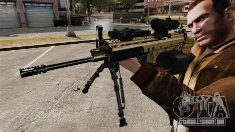 Máquina de assalto FN SCAR-L para GTA 4 por diante tela