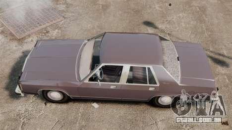 Ford LTD Crown Victoria para GTA 4 vista direita