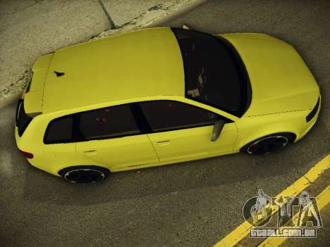 Audi RS3 2013 para GTA San Andreas