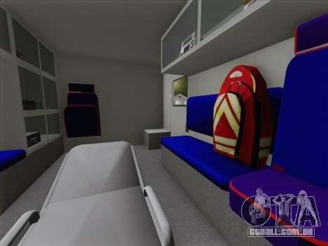 Dodge Ram Ambulance BCFD Paramedic 100 para o motor de GTA San Andreas