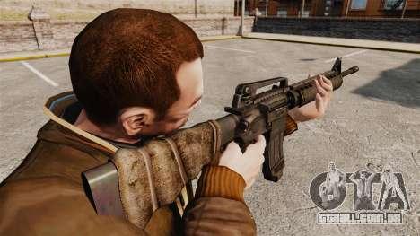 Um americano fuzil M16A4 para GTA 4 segundo screenshot