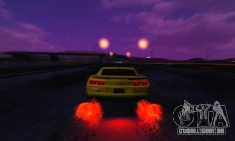 Cool SkyBox para GTA San Andreas terceira tela