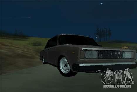 VAZ 21053 para GTA San Andreas esquerda vista