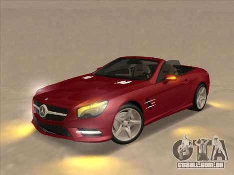 Mercedes-Benz SL500 2013 (ImVehFt v2.02) para GTA San Andreas vista direita