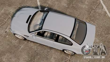 BMW M3 E46 v1.1 para GTA 4 vista direita