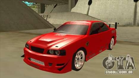 Toyota Chaser JZX100 DriftMuscle para GTA San Andreas