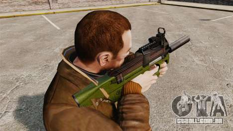 V2 de pistola-metralhadora belga FN P90 para GTA 4