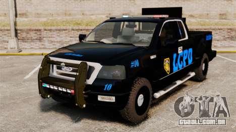 Ford F-150 v3.3 LCPD Auxiliary [ELS & EPM] v1 para GTA 4