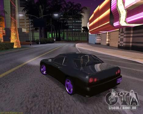 Elegy by Xtr.dor v2 para GTA San Andreas traseira esquerda vista