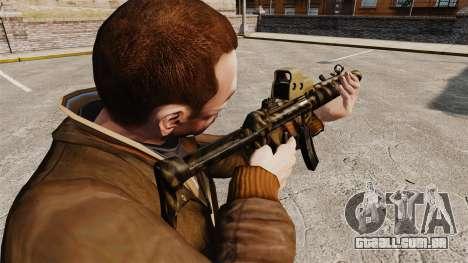 MP5SD metralhadora v4 para GTA 4