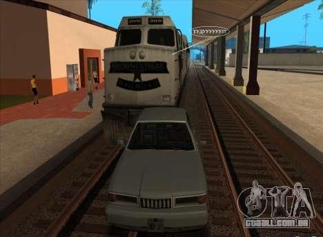 Vaia para trens para GTA San Andreas