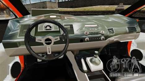 Honda Civic Type-R (Mugen RR) para GTA 4 vista de volta