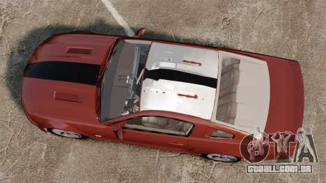 Ford Mustang Saleen SA-25 2008 para GTA 4 vista direita