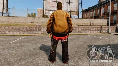 PED Domdrug de TBoGT para GTA 4 sexto tela