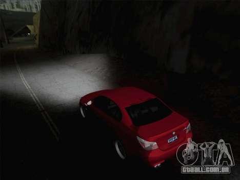 Faróis de média e alta feixe para GTA San Andreas segunda tela