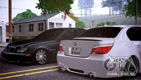 Mercedes-Benz C32 AMG para vista lateral GTA San Andreas