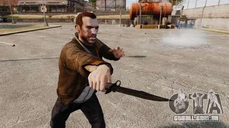 A faca de Alabama Slammer preto para GTA 4 terceira tela