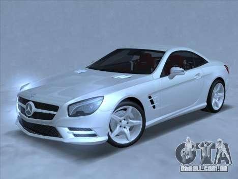 Mercedes-Benz SL500 2013 (ImVehFt v2.02) para GTA San Andreas esquerda vista