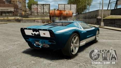 Nova bala GT para GTA 4 traseira esquerda vista