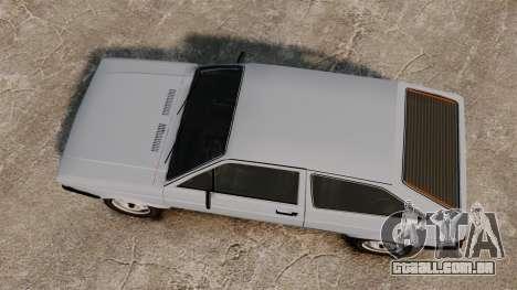 Volkswagen Gol LS 1986 para GTA 4 vista direita