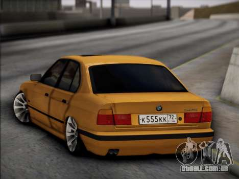 BMW M5 E34 para vista lateral GTA San Andreas