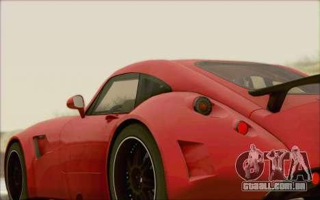 Wiesmann GT MF5 2010 para GTA San Andreas vista traseira