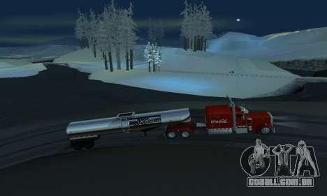 Mod de inverno para SA: MP para GTA San Andreas